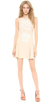 Tibi Open Back Fitted Dress