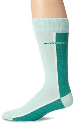 HUGO BOSS Men's Color Blocked Dress Sock