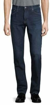 AG Jeans Everett Burroughs Straight-Fit Jeans