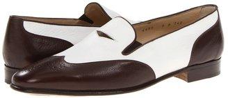 Gravati Wingtip Loafer (Brown/White) - Footwear