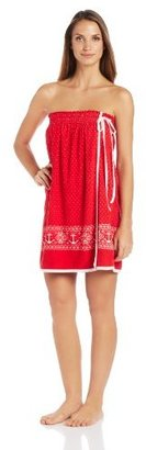 Nautica Sleepwear Women's Shower Wrap