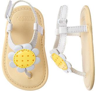 Gymboree Daisy Crib Sandal