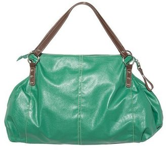 Laundry by Shelli Segal CL by Large Satchel - Green