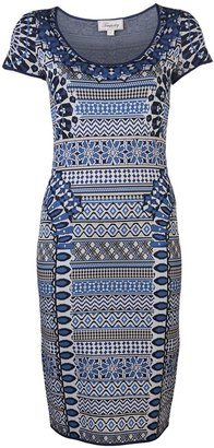 Temperley London Mimi jacquard dress