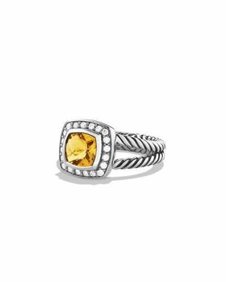 David Yurman Petite Albion Ring with Citrine and Diamonds $675 thestylecure.com