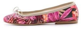 Anniel Floral Canvas Ballet Flats