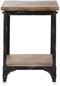 Bed Bath & Beyond angelo:HOME Bowery End Table in Rustic Gray
