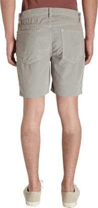 Barneys New York Corduroy Cut-Off Shorts