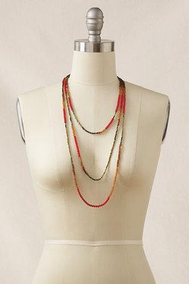 Lands' End Women's Triple Strand Necklace