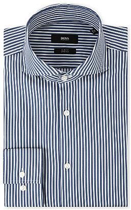HUGO BOSS Dwayne slim-fit single-cuff shirt - for Men