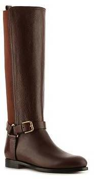 Ralph Lauren Sabeen Leather Riding Boot