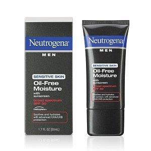 Neutrogena Men Sensitive Skin Oil-Free Moisture SPF 30 with Helioplex