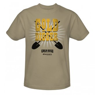 Discovery Gold Rush Gold Digger T-shirt - Sand
