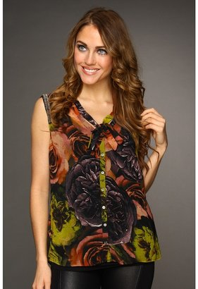 Patterson J. Kincaid Filla Tie Blouse (Rose Dawn Multi) - Apparel
