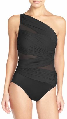 Miraclesuit R) Jena One-Shoulder One-Piece Swimsuit