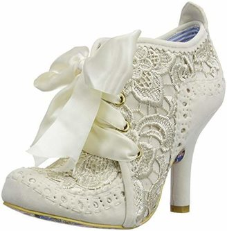 Irregular Choice Women's Abigail's Third Party Ankle Boots, Off-White (Cream Q), 6 UK