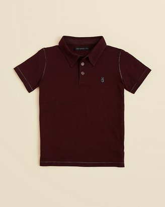 John Varvatos Boys' Short Sleeve Polo Shirt - Sizes 4-7