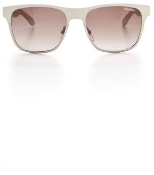 Saint Laurent Metal Colorblock Sunglasses