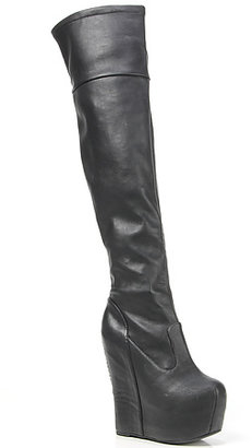 Jeffrey Campbell The Dare Devil Boot in Black