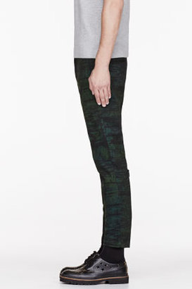 Marni Green Patterned trousers