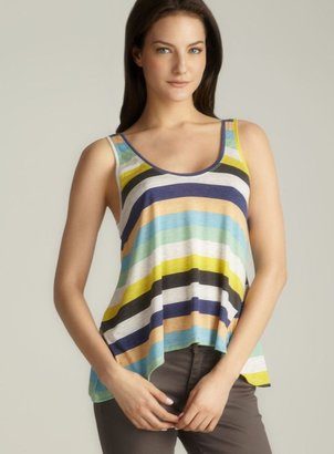 Alternative Apparel Alternative Striped Flared Hem Tank