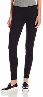 Hue Women's Cotton Legging, Black, Small/01