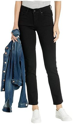 Levi's(r) Womens Mid Rise Skinny Jean (Black Squared) Women's Jeans