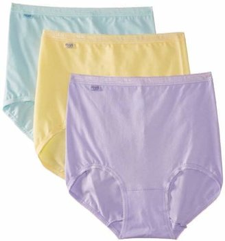 Sloggi Women's Basic Maxi 3 Pack Plain Brief, Yellow (), UK (44 EU)