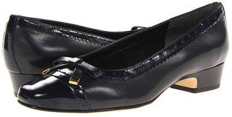 Rose Petals - Dillon (Navy Kid/Patent) - Footwear