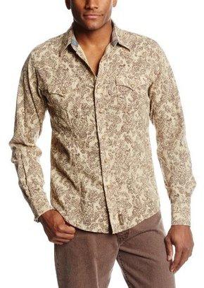 Wrangler Men's Tall Retro Western Long Sleeve Shirt