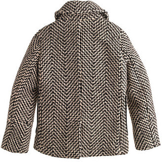 J.Crew Girls' tweed peacoat