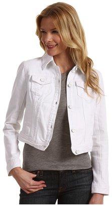 DKNY Denim Jacket (White) - Apparel
