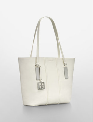 Calvin Klein Caitlin Leather Tote