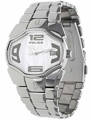 Police Women's PL-12896BS/04M Angel Dial Stainless Steel Date Watch