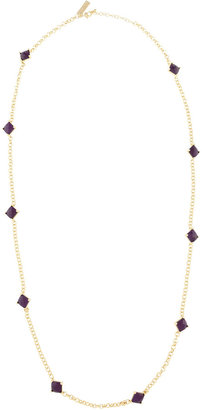 Kendra Scott Tally Long Necklace, Purple