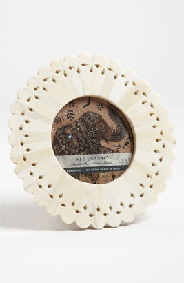 Argento Circular Photo Frame (4x4) Ivory One Size