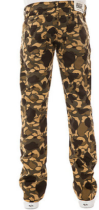 Camo Rustic Dime The Slim Twill Pants in Bubble