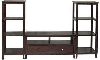 Knob Hill Home star TM products entertainment center