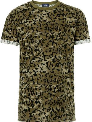 Camo Leopard Print T-shirt