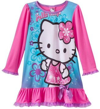 Hello Kitty ruffled nightgown - toddler
