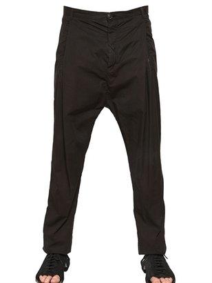Damir Doma 19cm Cotton Poplin Pleated Trousers