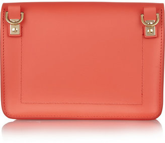 Sophie Hulme Envelope mini leather shoulder bag