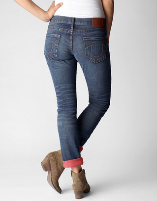 True Religion Rori Straight Patched Womens Jean