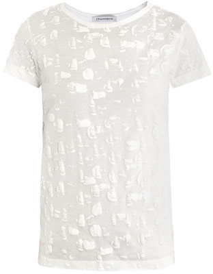 J.W.Anderson Paintbrush textured T-shirt