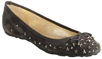 Jimmy Choo smoked suede star studded crystal 'Willow' ballet flats