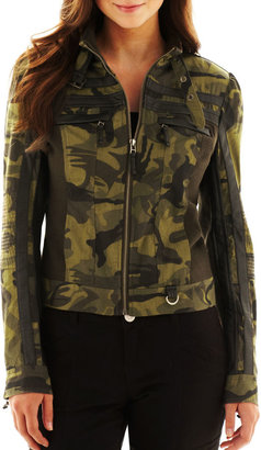 JCPenney SUGARFLY Sugarfly Camouflage Jacket