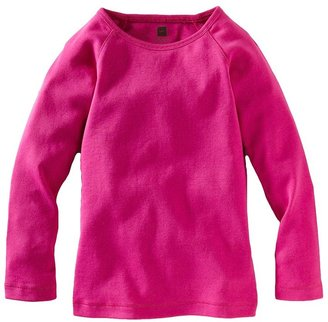 Tea Collection Ribbed Purity Tee - Flambe-6-12 Months