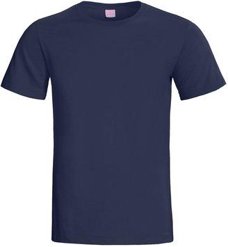 Ringspun LAT Sportswear Combed Ring-Spun Cotton T-Shirt - Short Sleeve (For Women)