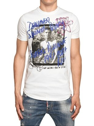 DSquared Dyed Light Cotton Jersey T-Shirt