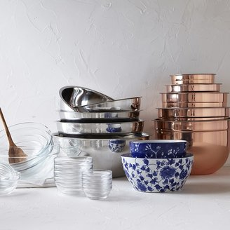 Williams-Sonoma Williams Sonoma Glass Prep Mixing Bowls, Set of 8